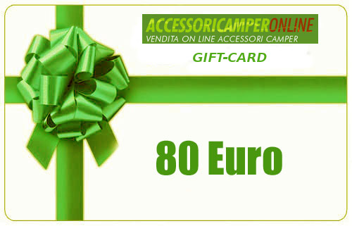 GIFT-CARD Accessoricamperonline EURO 80
