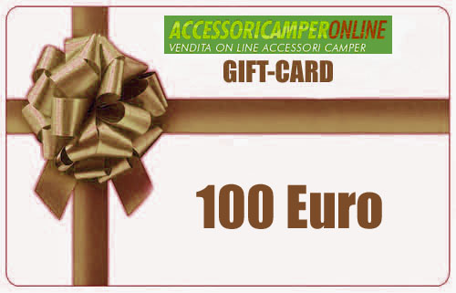 GIFT-CARD Accessoricamperonline EURO 100
