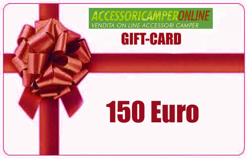 GIFT-CARD Accessoricamperonline EURO 150