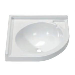 Lavandino per Bagno ad Angolo 418x418 mm. [65014.10] - 34,50€ iva inclusa Cam...