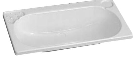lavandino per bagno 665x345 mm