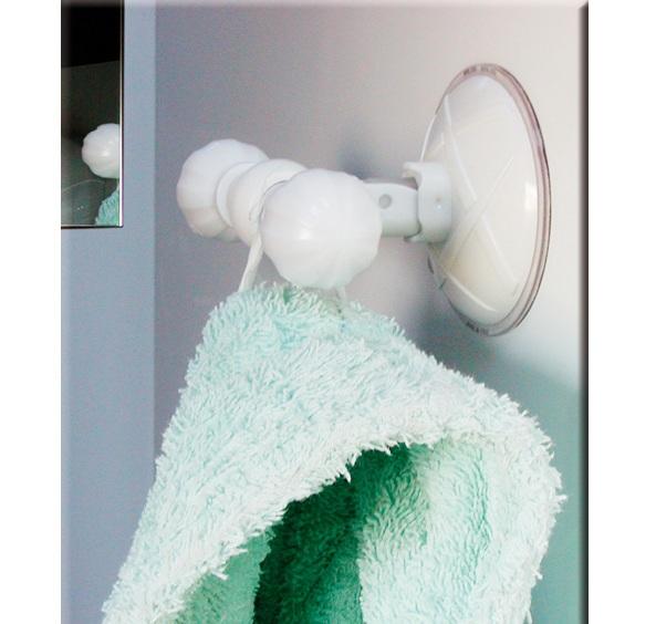 Portarotolo per carta igienica a ventosa aprot 5 90 - Accessori bagno a ventosa ...