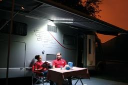 Luce per veranda led awning case m fiamma luc