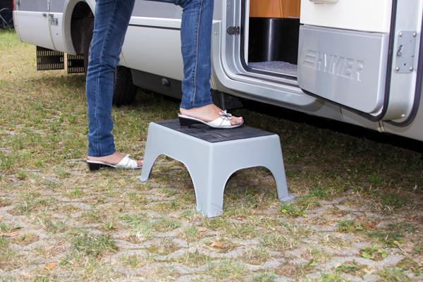 Gradini e sgabelli camper camping campeggio accessori per