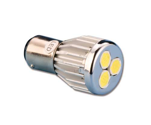 Lampadina led a baionetta 360 l4491010 12 66 iva for Lampadine led 3 volt