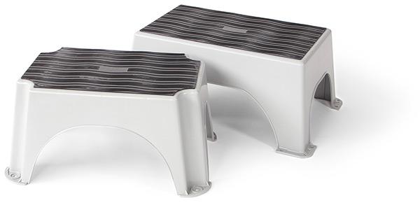 Copertura antisdrucciolo per gradini in plastica step mat