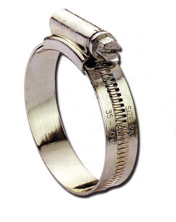 Fascette stringitubo in acciaio inox