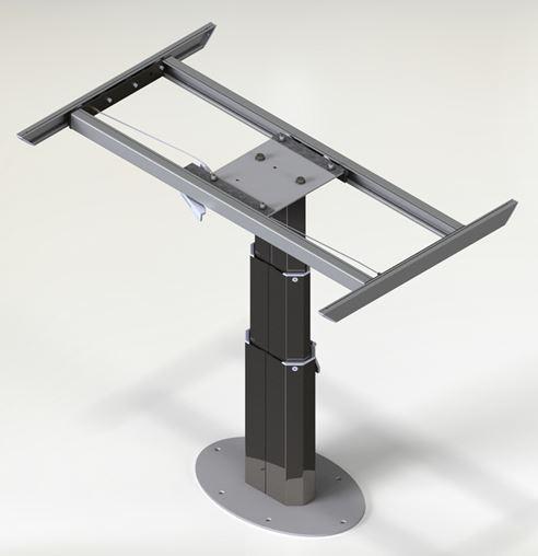 Tavoli Per Camper Allungabili.Gambe Telescopiche Per Tavoli Terredelgentile