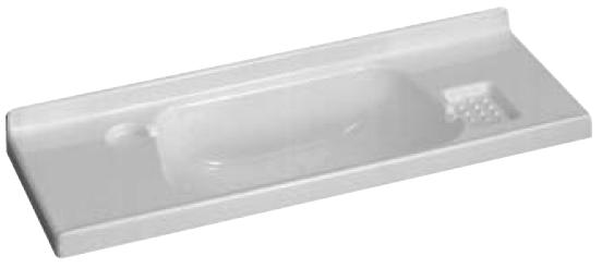 lavandino per bagno 820x300 mm