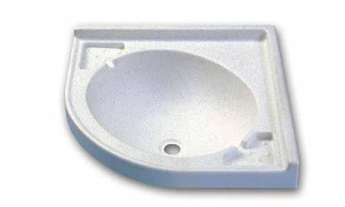 Lavello in acciaio inox semisferico diametro 390 mm. [2424102 ...