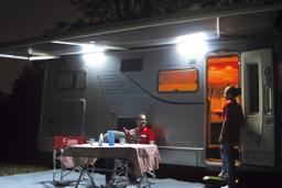 luce esterna da veranda led awning light fiamma [95991/luc344 ... - Illuminazione Veranda Camper