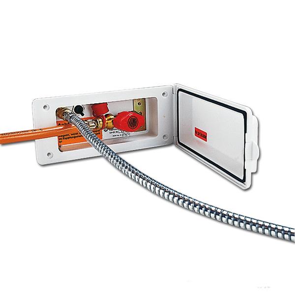 Presa Esterna per Acqua e Gas con Interruttore - Clicca l'immagine per chiudere