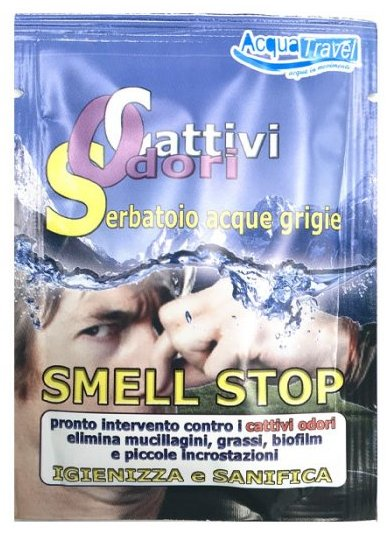 Acquatravel SMELL STOP Anti Odori per Serbatoio Acque Grigie