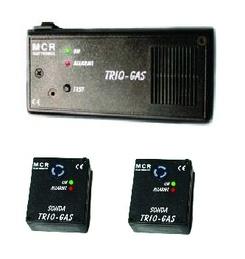 Trio gas allarme acustico sensore gas soporiferi gpl per camper roulotte  PPG