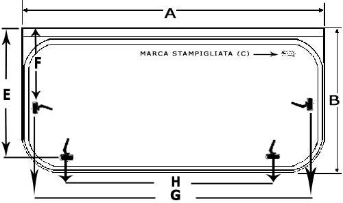 Finestre per camper s4 seitz accessori camper online - Finestre per camper seitz dometic ...